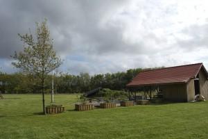 grillplads på aktivitetspladsen